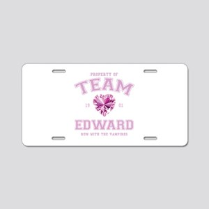 Team Edward Aluminum License Plate