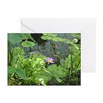 Lavender Lotus Greeting Cards (Pk of 10)