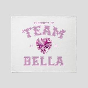 Team Bella Throw Blanket