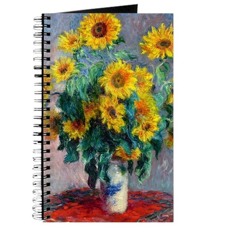 Monet - Sunflowers Journal