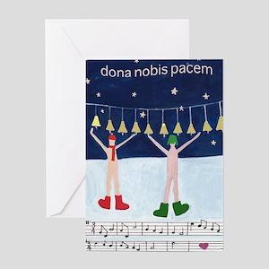 dona-nobis-pacem Greeting Cards