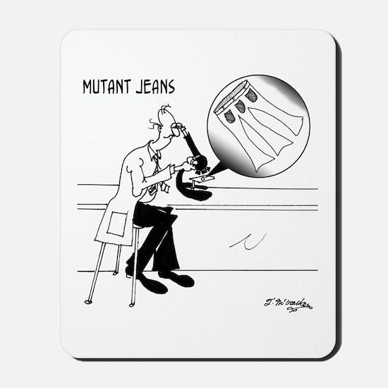 Mutant Jeans Mousepad