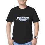 Plumbing / Kings Men's Fitted T-Shirt (dark)