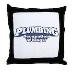 Plumbing / Kings Throw Pillow