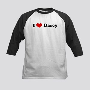 I Love Darcy Kids Baseball Jersey