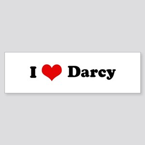 I Love Darcy Bumper Sticker