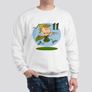 Eleven Pipers Piping Sweatshirt