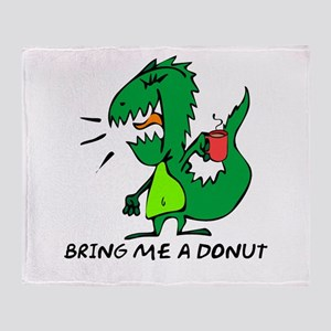 Bring Me A Donut Throw Blanket