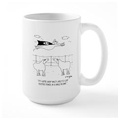 Super Sheep Large Mug