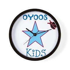 OYOOS Kids Star design Wall Clock