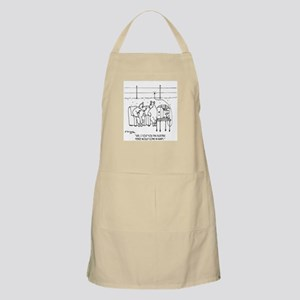 Electric Fence Is Handy Apron