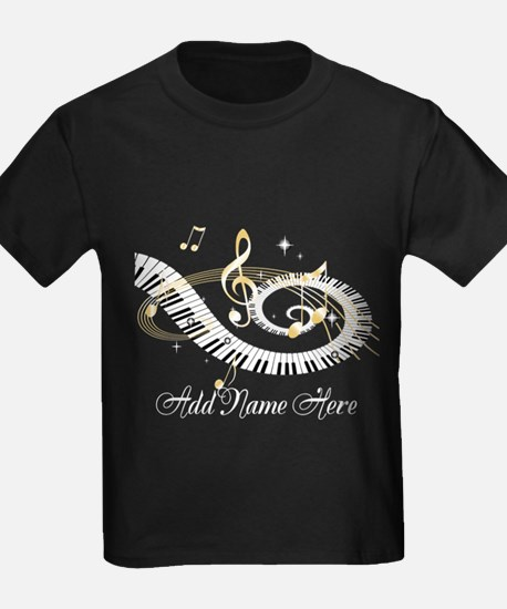 Personalized Piano Musical gi T