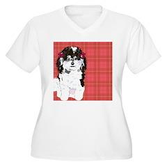 BLACK & WHITE POODLE 1 T-Shirt