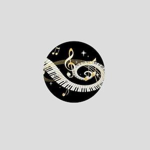 Personalized Piano Musical gi Mini Button