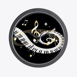 Personalized Piano Musical gi Wall Clock