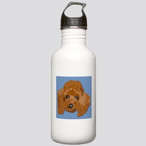 red poodle Stainless Water Bottle 1.0L