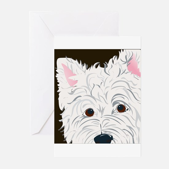 WEST HIGHLAND TERRIER Greeting Cards (Pk of 20)
