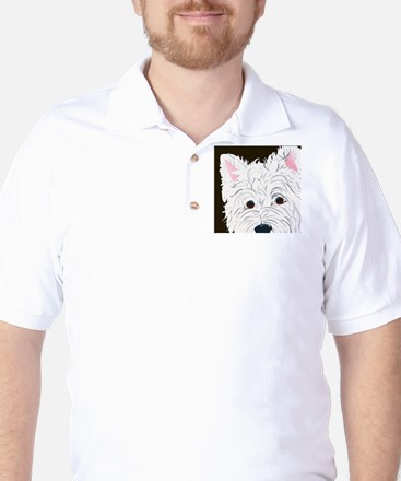 WEST HIGHLAND TERRIER Golf Shirt