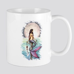 Enchanted Sea Mermaid Art by Molly Harrison Mug