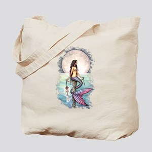 Enchanted Sea Mermaid Art by Molly Harrison Tote B