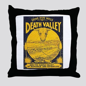 Stove Pipe Wells Throw Pillow