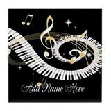 Music Tile Coasters