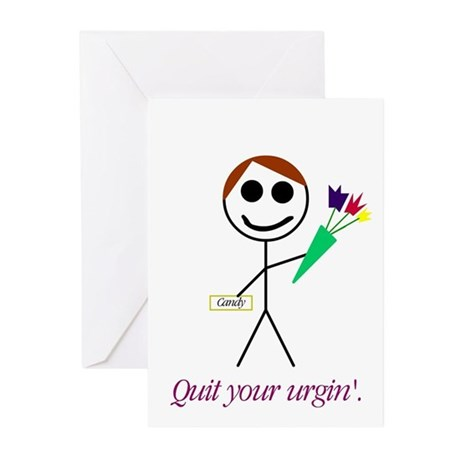 """Urgin'"" Greeting Cards (Pk of 10)"