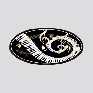 Personalized Piano Musical gi Patches