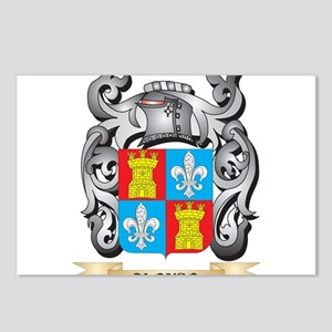 Alonso Family Crest - Alo Postcards (Package of 8)