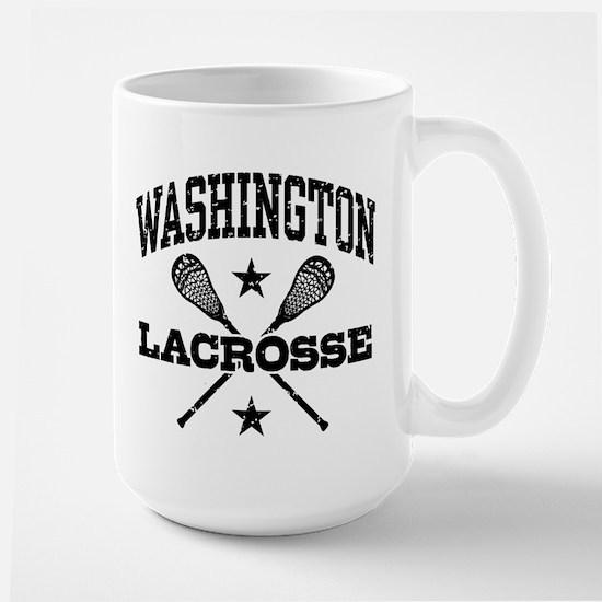 Washington Lacrosse Large Mug