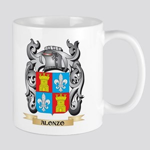 Alonzo Family Crest - Alonzo Coat of Arms Mugs