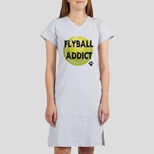 Flyball Addict Women's Nightshirt