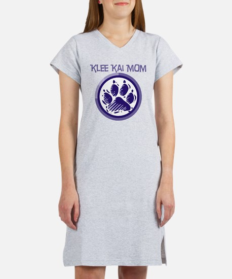 Klee Kai Mom Women's Nightshirt