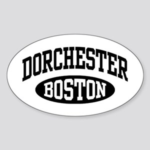 Dorchester Boston Sticker (Oval)