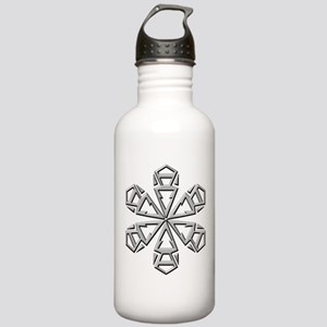 Snowflake Stainless Water Bottle 1.0L