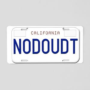 NODOUDT Aluminum License Plate