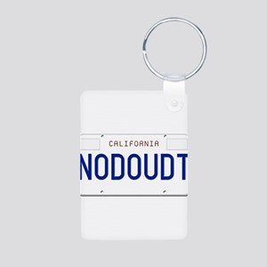 NODOUDT Aluminum Photo Keychain