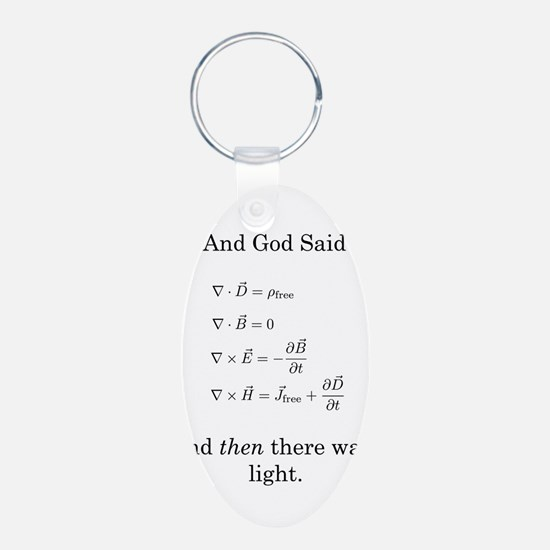 Maxwell's Equations Keychains