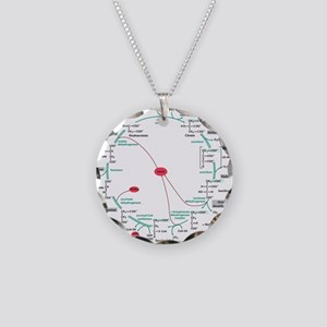 Kreb's Cycle Necklace Circle Charm