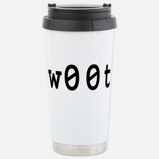 w00t Stainless Steel Travel Mug