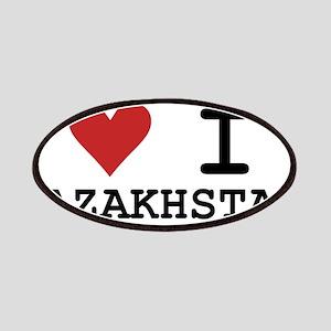 Heart I Kazakhstan Patches
