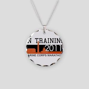 Marine Corps Marathon - In Tr Necklace Circle Char