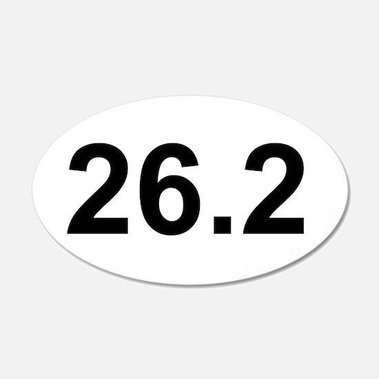 26.2 Marathon 22x14 Oval Wall Peel