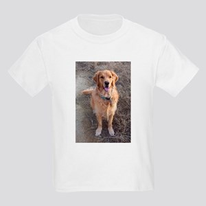 Golden Retriever Kids Light T-Shirt
