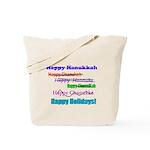 Happy Holiday Tote Bag