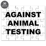 Against Animal Testing Puzzle