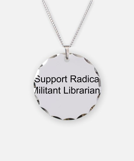 Funny Librarian freedom Necklace