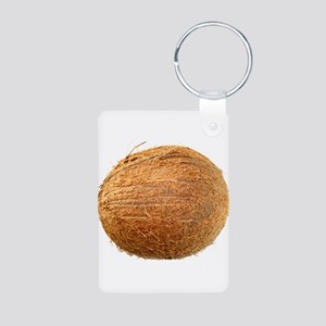 Coconut Aluminum Photo Keychain
