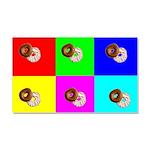 Andy Warhola Bagels Car Magnet 20 x 12