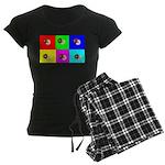 Andy Warhola Bagels Women's Dark Pajamas